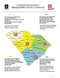 Charleston Regulatory Service Areas